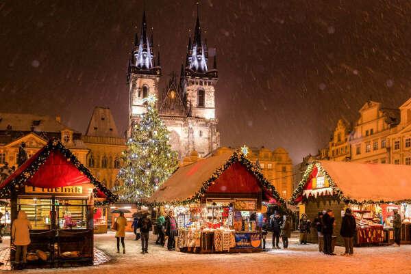 Поехать в Европу на Рождество