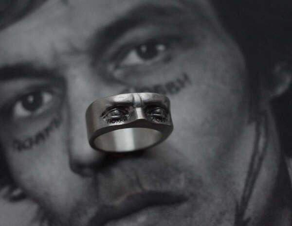 """Кольцо Давид """"Полны Любви"""""""
