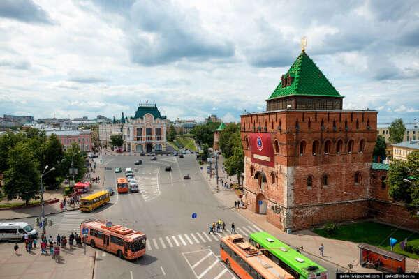 в Нижний Новгород