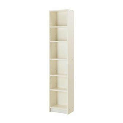 БИЛЛИ Стеллаж - белый, 40x28x202 см - IKEA