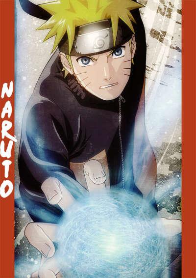 Плакат Наруто
