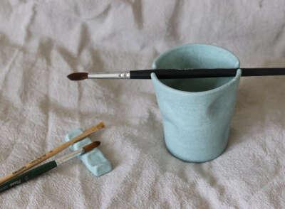 Набор для художника, керамика ручной работы