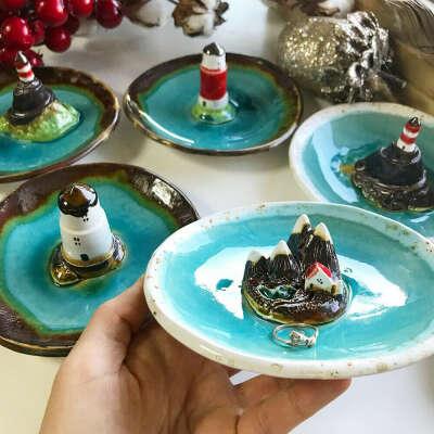 Мастер-класс по лепке тарелок из керамики