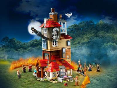 LEGO Нападение на Нору Harry Potter