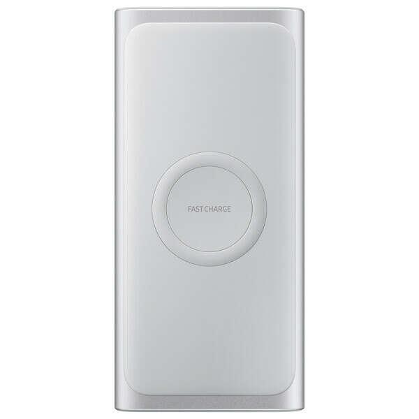 Внешний аккумулятор Samsung 10000mAh Silver (Беспроводная зарядка )