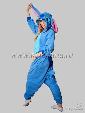 """Пижама кигуруми """"Стич"""""""
