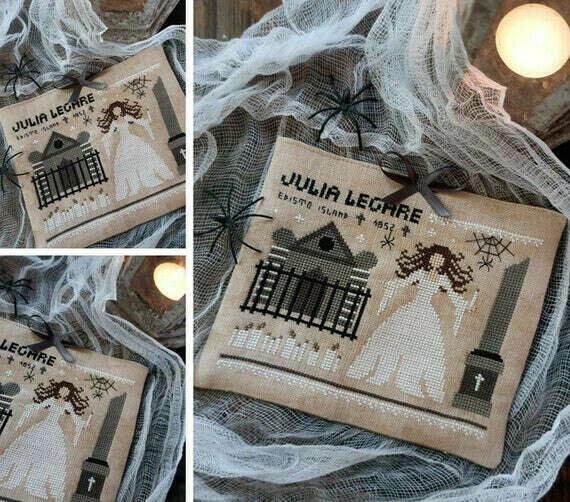 The Haunted Mausoleum of Julia Legare- Схема для вышивки