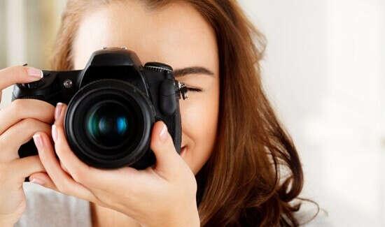 Профессиональная камера для съемки видео и фото.