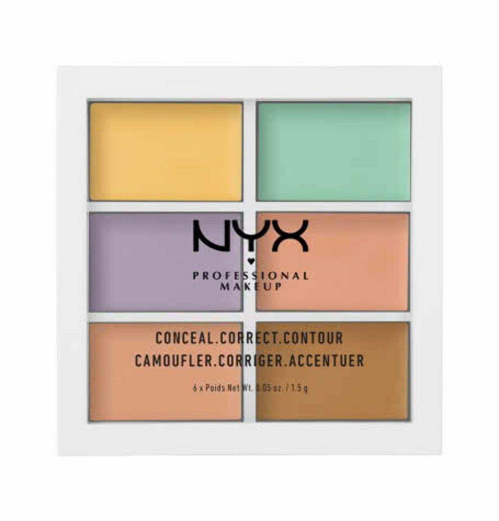 Палетка для коррекции цвета.  COLOR CORRECTING PALETTE 304