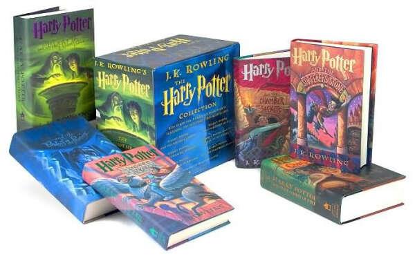 Хочу все книги о Гарри Поттере