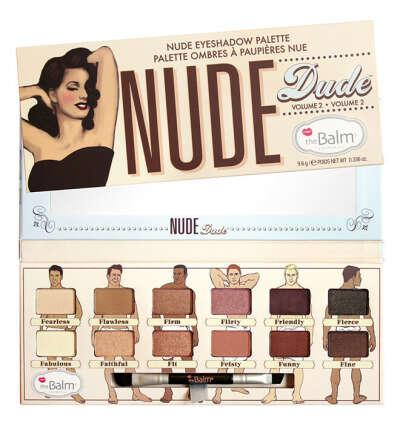 Палетка теней Nude Dude
