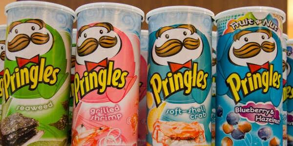 Попробовать Pringles всех вкусов