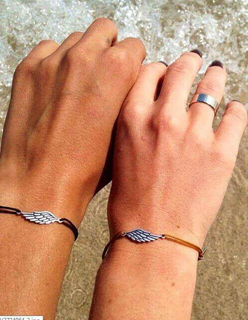 Хочу чтобы носить с мужем парные браслеты)))