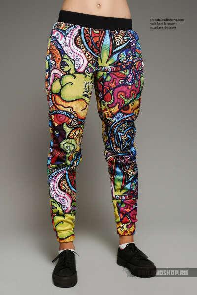 Женские брюки Psychedelic