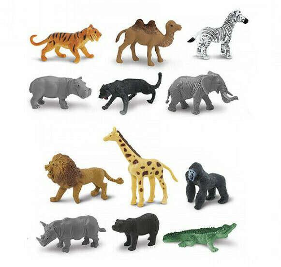 Набор фигурок Safari Ltd Дикие животные