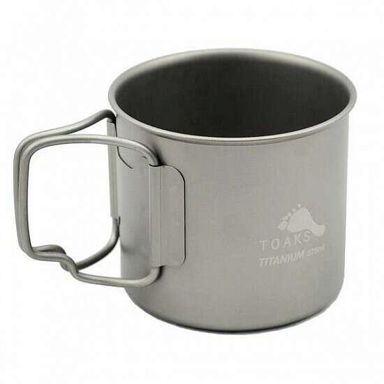 Кружка Toaks Titanium 375 мл Cup