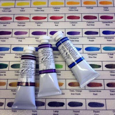 Набор акварельных красок M.Graham в тубах