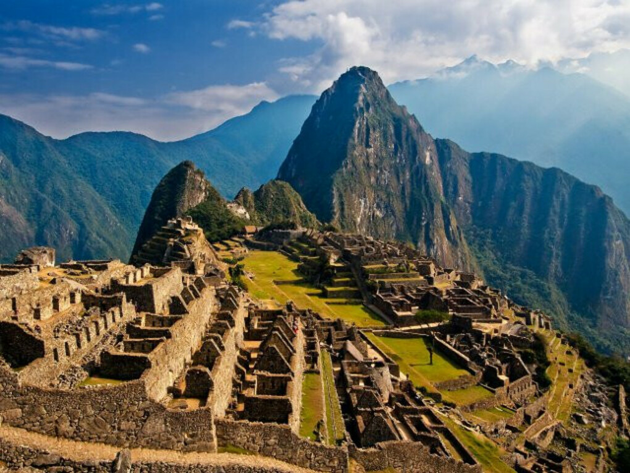 поехать в Перу
