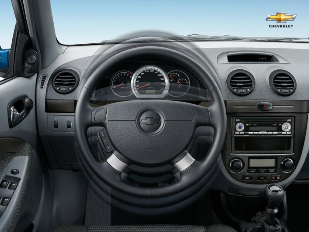 Покраска элементов салона Chevrolet Lacetti