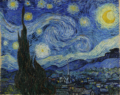 Увидеть оригинал Звездной Ночи Ван Гога