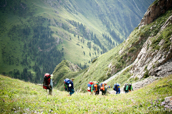 В поход в горы