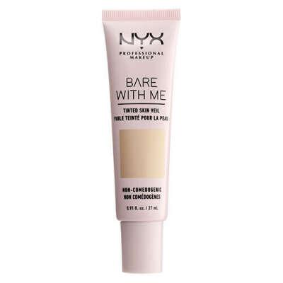 Тональная основа-вуаль для лица Bare With Me Tinted Skin Veil от NYX Professional Makeup