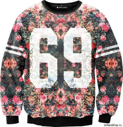 Толстовка Sexy sweaters - Flower 69