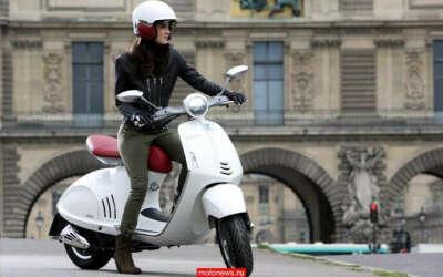 Скутер в стиле ретро