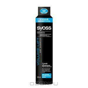"""Syoss Сухой Шампунь """"Volume Lift"""", для тонких и ослабленных волос, 200 мл, 250 мл"""