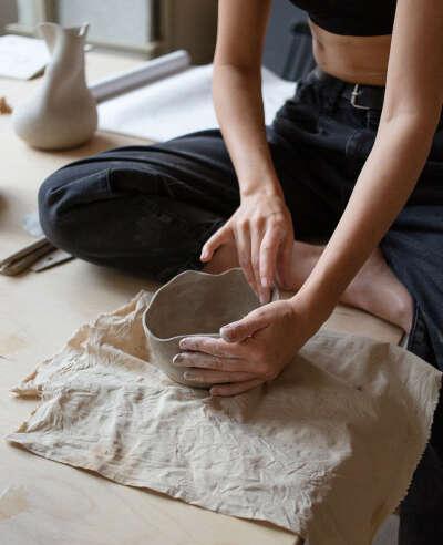 Мастер класс по лепке керамики от nezhno.ceramics