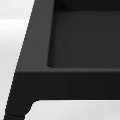 КЛИПСК Поднос на ножках - черный - IKEA