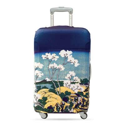 Чехол для чемодана LOQI Museum  / Hokusai