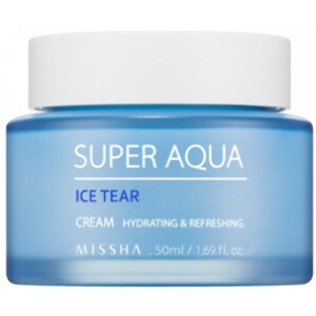 Освежающий крем для лица Super Aqua Ice Tear Cream