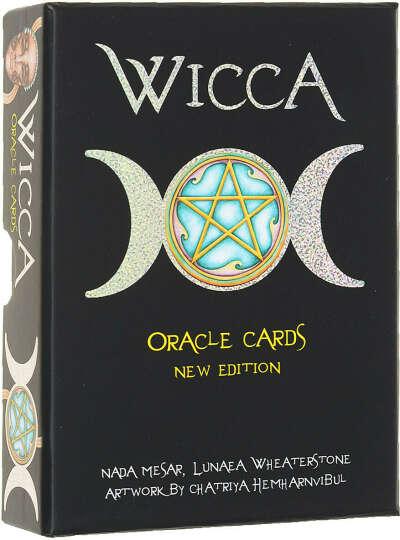 """Оракул Lo Scarabeo """"Викканский Оракул Ведьм (Wicca)"""", 33 карты, инструкция на русском языке. OR03"""
