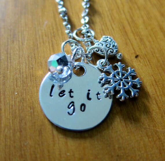 Frozen Inspired Elsa Let It Go Necklace.