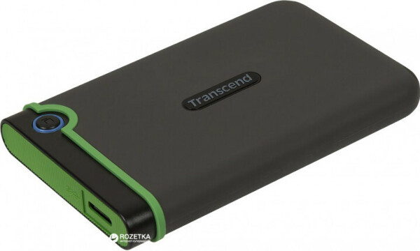 "Жесткий диск Transcend StoreJet 25M3S 2TB TS2TSJ25M3S 2.5"" USB 3.1 Gen 1 External Iron Gray"