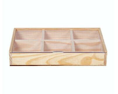 Коробка для чайныx пакетиков