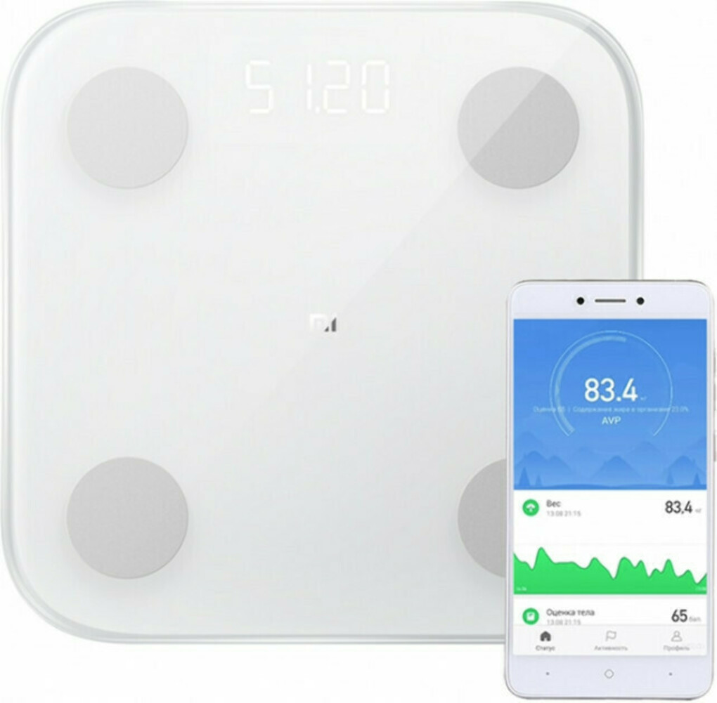 Смарт-весы Xiaomi Mi Body Composition Scales 2 XMTZC05HM