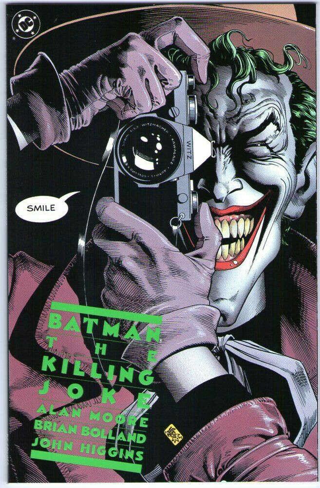 Batman The Killing Joke Beautiful cover High Grade Mint Comic Book 1st Printing.