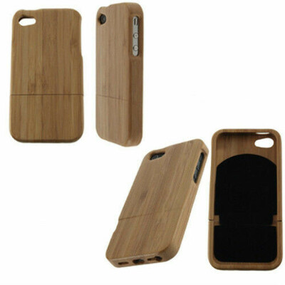 NEW Natural Bamboo Wood Hard Back Case Cover Protector for Apple iPhone4 4S G6