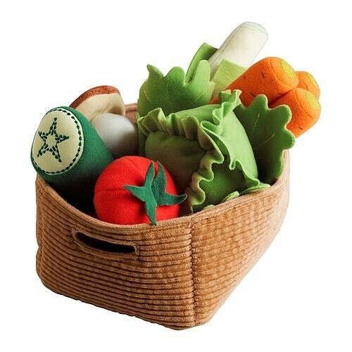 Овощи для Тиши