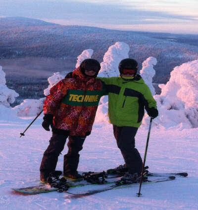 Хочу снова поехать на горнолыжный курорт Леви, Финляндия!!!
