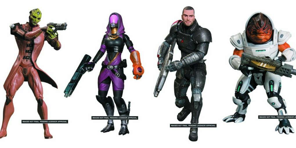 Big Fish Toys Mass Effect 3: Series 1 Figures (Set of 4)