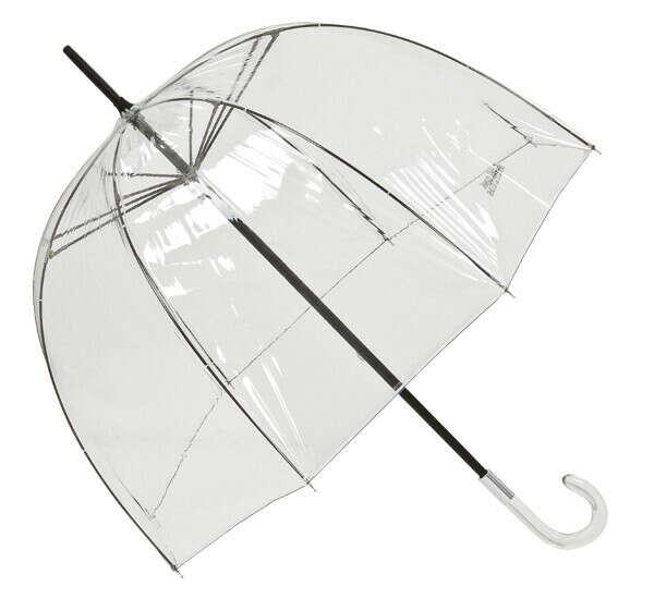 Прозрачный зонтик купол