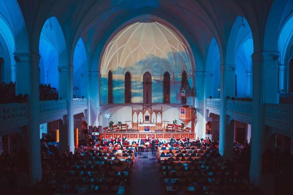 Послушать на концерте орган/дудук