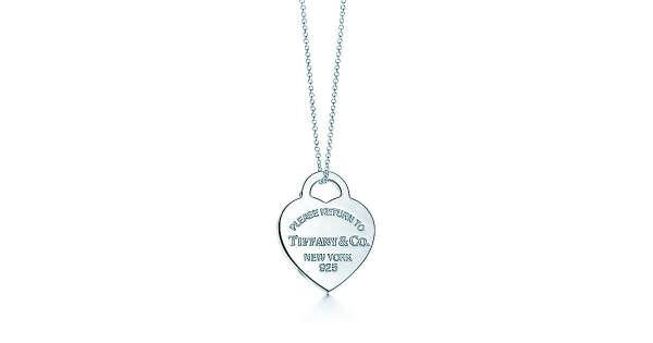 Tiffany & Co. -  Return to Tiffany™:Подвеска-жетон в форме сердца