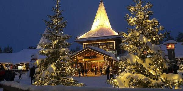 Santa Claus Village trip (Rovaniemi, Lapland)