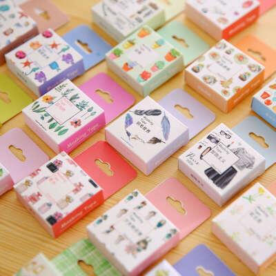 Японский васи лента декоративная скотч декоративные ленты Скрап Бумага маскировки наклейки фотоальбом Васи набор купить на AliExpress