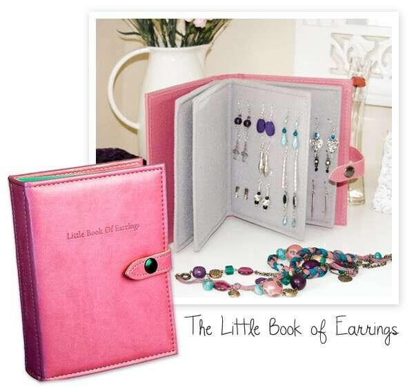 Книжку для хранения сережек