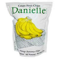 Danielle Chips, Crispy Fruit Chips, Honey Banana, 2 oz (56 g)